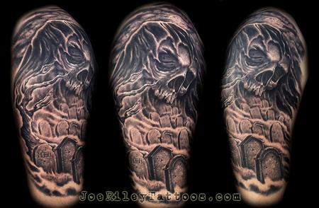 Joe Riley - Grim Reaper Tattoo