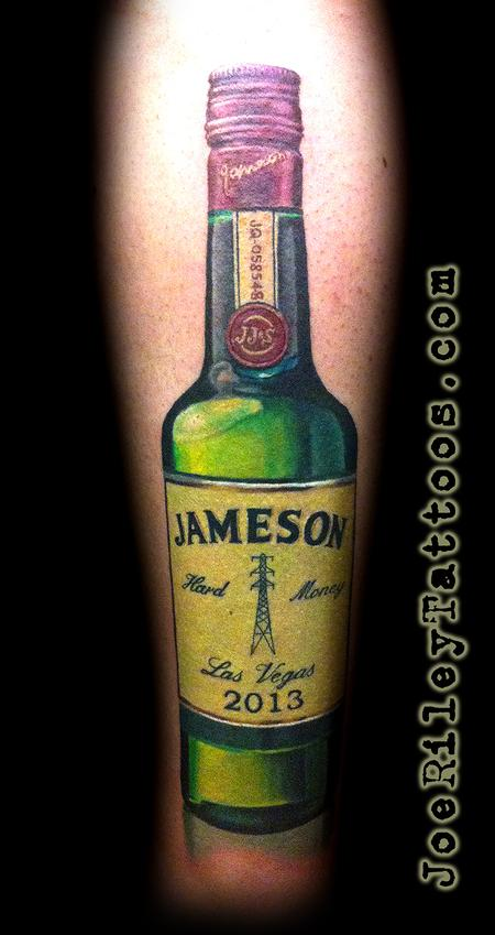 Jameson Whiskey Tattoo Design