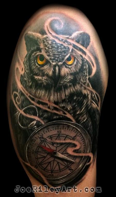 Owl Tattoo Tattoo Design