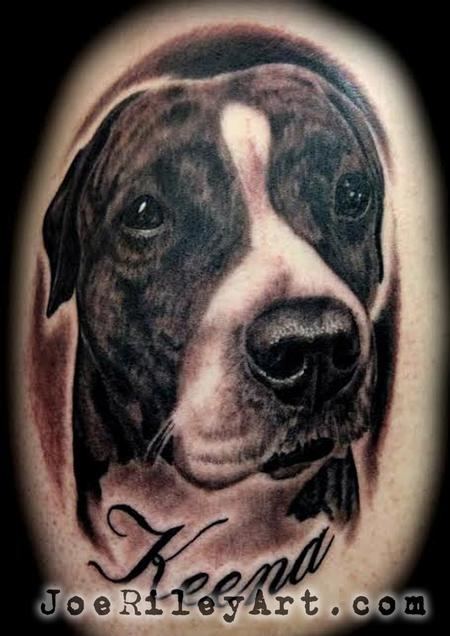 Pitbull Tattoo Design Thumbnail