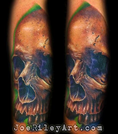 realistic skull tattoo Tattoo Design Thumbnail