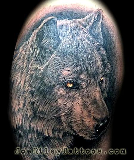 Tattoos - Wolf Tattoo - 117064