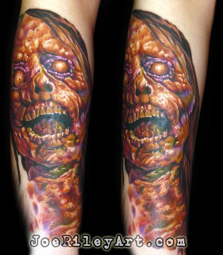 Evil Zombie Tattoo Tattoo Design