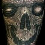 Tattoos - Biomech Skull Sleeve Tattoo - 116149