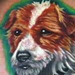 Tattoos - Dog Tattoo - 117206