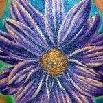 Tattoos - Daisy Flower Tattoo - 117623