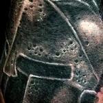 Tattoos - Spartan Helmet Tattoo - 111456