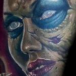 Tattoos - zombie tattoo - 125749