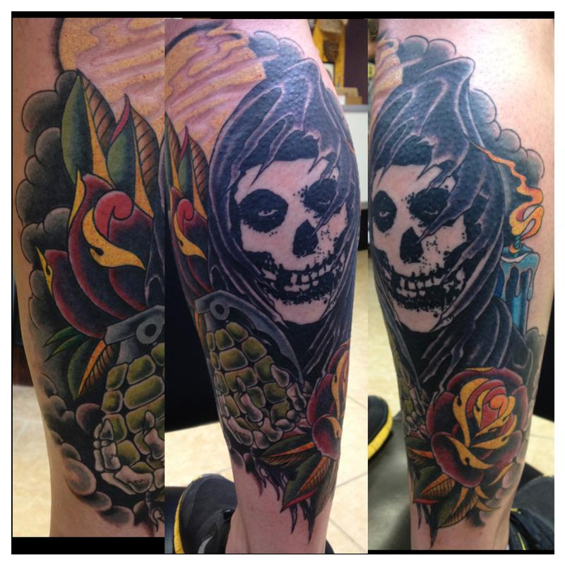 misfits fiend tattoo   pixshark     images galleries