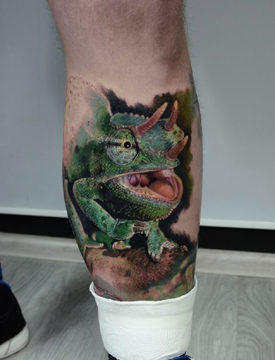 Tattoos - Chameleon - 114512
