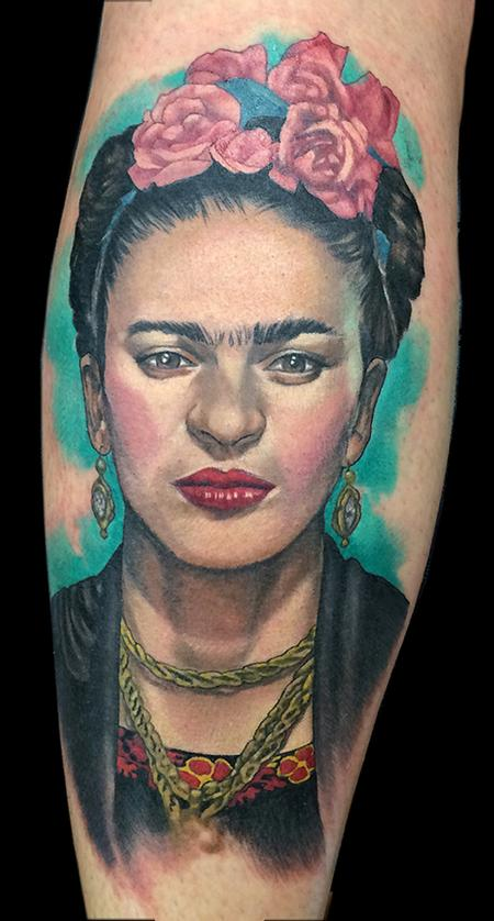 Frida tattoo Design Thumbnail