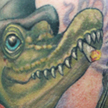 Tattoos - Alligator tattoo - 92136