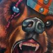 Tattoos - Viking Brown Bear tattoo - 70342
