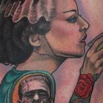 Tattoos - Bride of Frankenstein tattoo - 108427
