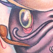 Tattoos - Fly Fishing Catfish Tattoo - 73093