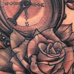 Tattoos - Compass and Rose tattoo - 99044