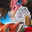 Tattoos - Fox n Buzzard - 68633