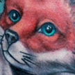 Fox Tattoo Tattoo Design Thumbnail