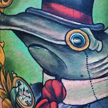 tattoos/ - Dapper hammerhead shark - 94404