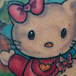 Hello Kitty tattoo Tattoo Design Thumbnail