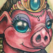 Pig Princess tattoo Tattoo Design Thumbnail