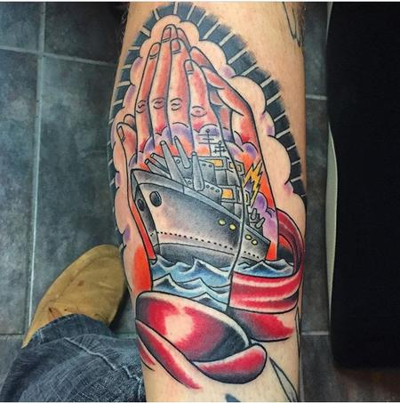 Tattoos - Praying Hands - 113541