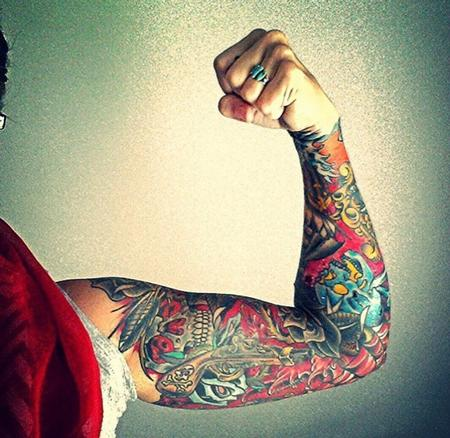 Tattoos - Sleeve - 113542