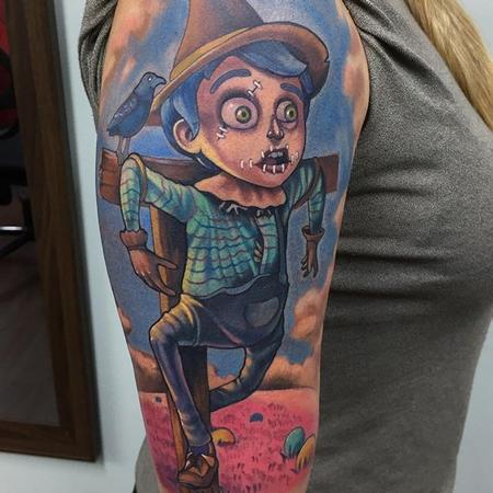 Tattoos - Scarecrow Tattoo - 133096