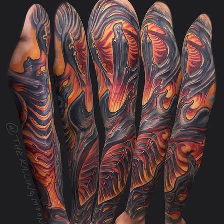 Tattoos - Bio organic sleeve - 133097