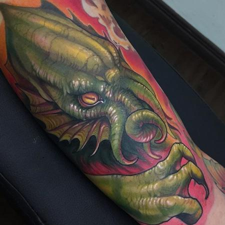 Cthulhu tattoo Tattoo Design