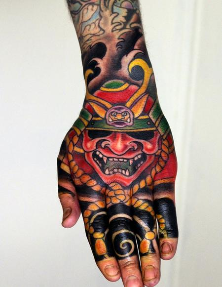 Tattoos - Japanese Hand tattoo - 127726