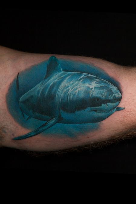 Tattoos - shark - 103810