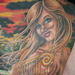 Tattoos - Mermaid Back Piece Tattoo - 65924
