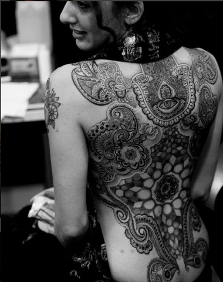 Tattoos - Blackwork Backpiece - 109452