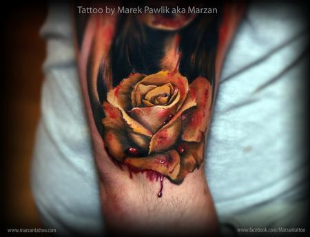 Tattoos - Bloody rose - 111780