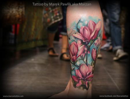 Magnolia flowers Design Thumbnail