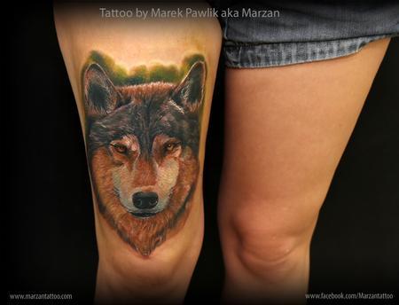 Tattoos - dog portrait - 119357