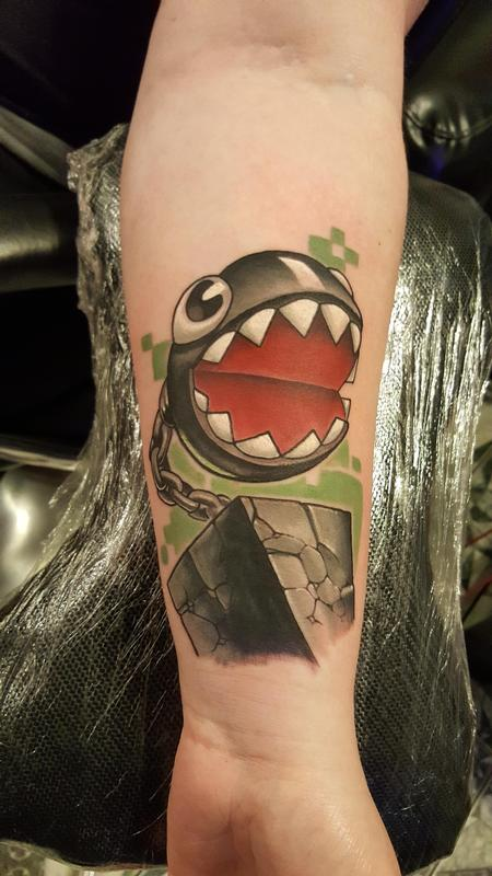Tattoos - Chain chomp  - 116880