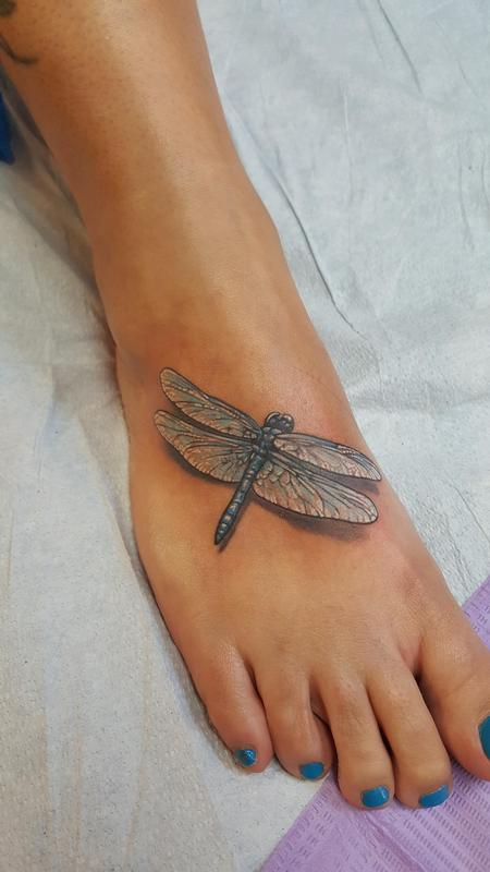 Tattoos - Dragonfly - 117782