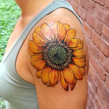 Tattoos - Sunflower  - 119336