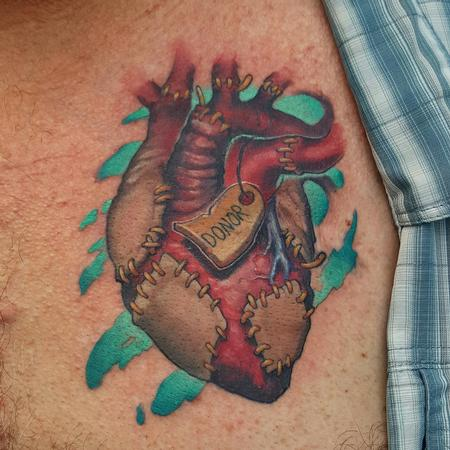Tattoos - Donor heart - 119425