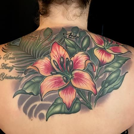 Tattoos - Lovely lilies  - 126971