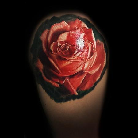 Tattoos - Rose - 106196