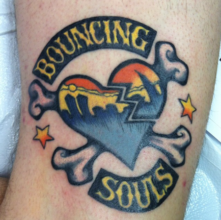 Bouncing Souls Tattoo Design