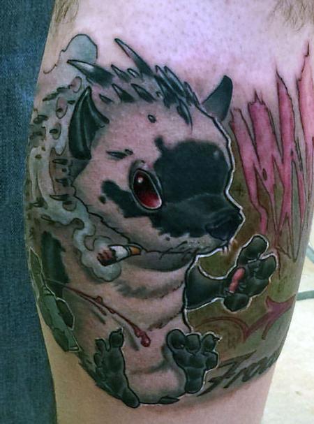 Tattoos - hood hedgehog - 112496