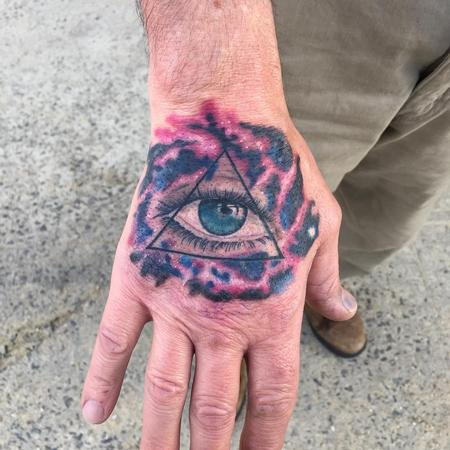 universal all seeing eye Tattoo Design Thumbnail