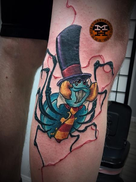 Tattoos - dapper spider - 132987