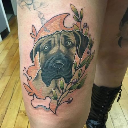 Tattoos - dog - 131577