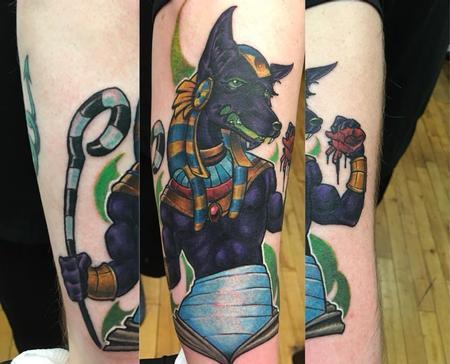 Anubis Tattoo Design Thumbnail