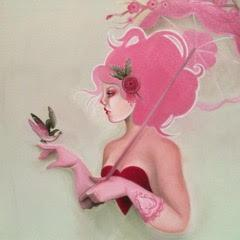 Monica Painter--Guest Artist - Pink-Haired Girl